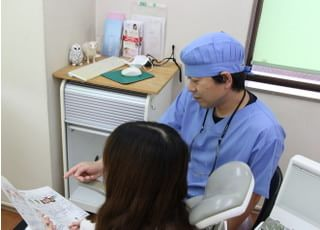 くにたち大学通り歯科医院_治療の事前説明1