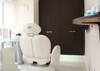 個室の診療室です。