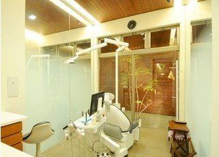 個室制の診療室です。