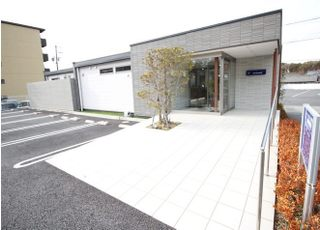 入口はスロープになっており院内は、バリアフリーです。