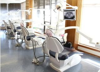 けやき歯科医院_患者さまにリラックスしていただける空間づくり