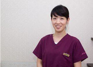 医局長の安永 真子です。安心して治療を受けて頂けるよう心掛けております。