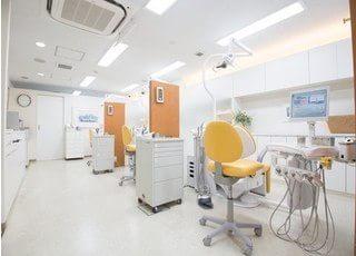 診療室です。こちらで治療が受けられます。