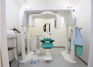 CTを使用し、3次元画像を得てより細かな情報を取得し治療を行なっております。
