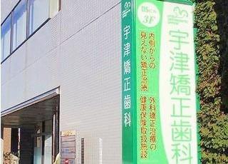 宇都宮駅東口より、徒歩10分です。緑色の看板が、目印です。