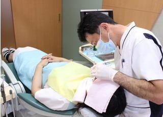 できるだけ痛くない、削らない、快適な治療を心がけております。