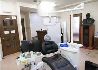 診療室は清潔に保つよう心がけております。