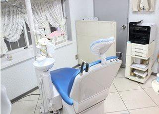 診療室です。清潔な環境を維持しております。