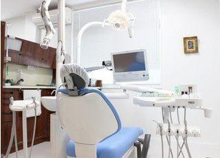 清潔感のある診療室です。