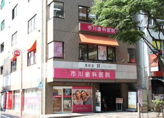 当院は、錦糸町駅から徒歩5分のところにあります