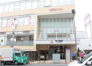 当田端歯科医院の最寄り駅は、市ヶ尾駅です。