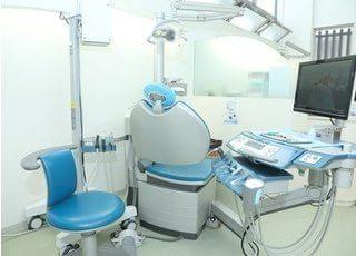 診療室です。何でもお気軽にご相談ください。
