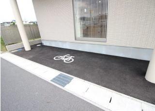 別途専用の駐輪場もございます。