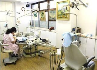 診療風景です。