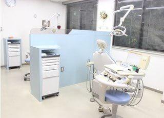 診療室内にはチェアが2台ございます。