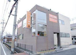 外観です。大和高田駅より徒歩5分の位置にございます。