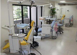 広い診療室なので、他の患者様が気になりません。