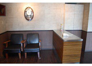 待合スペースです。診療前後はこちらで過ごしください。