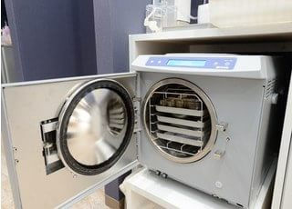 クラスBの滅菌器です。ヨーロッパ基準をクリアした滅菌器です。