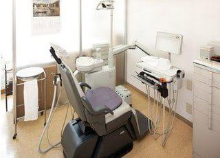 深慮室は一つなので周りを気にする事なく診療がうけられます。
