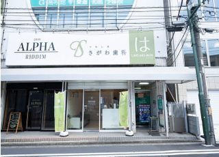 綱島駅から徒歩1分で当院に到着します。