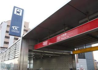 最寄駅は六町駅になります。