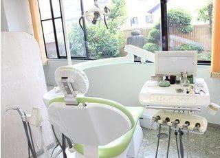 清潔感を保った診療室となっております。