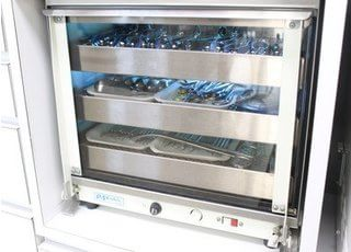 患者様に使用する器具は滅菌を徹底しております。
