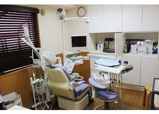 診療室にはモニターを設置しております。モニターを見ながら治療の流れを説明いたします。