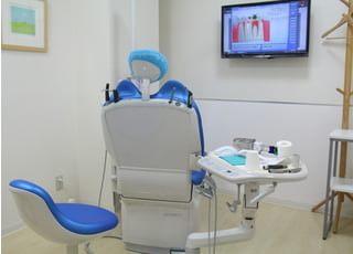 阿部デンタルオフィス_患者さまがリラックスして治療できる空間づくり