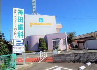 当院は阿南市富岡町にございます。阿南警察署の東側に位置しております。