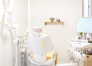 半個室の診療台です。