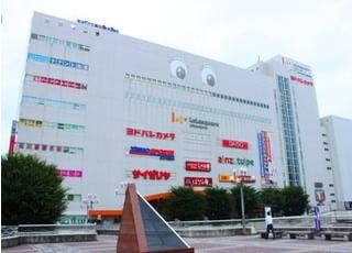 当院はJR宇都宮駅からすぐのララスクエア6階にございます。