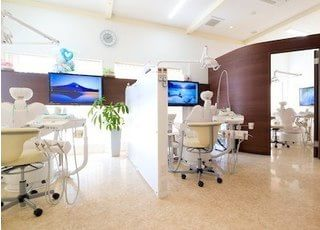 診療室です。個室のご用意もございます。