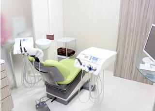 開放的な診療室になっています。