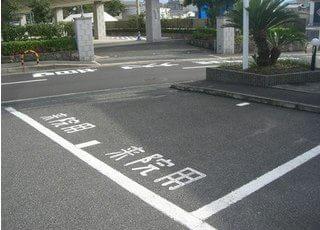 駐車場もご用意しております。お車でもお越しいただけます。