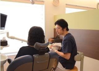 東町グラン歯科治療の事前説明1