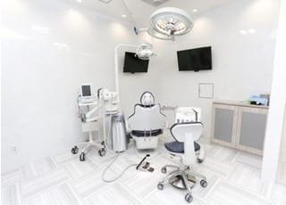 つくば中央歯科_心地よく治療を受けていただけるように用意した設備