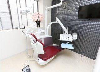 診療スペースはプライバシーに配慮した個室になっています。