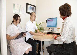 患者様一人一人のカウンセリングに時間をかけ、ご要望に沿う治療プランを提案します。