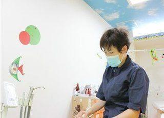 当院の医師です。お子様の歯医者でお悩みの方は、是非一度ご相談ください。