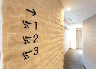 診療室は番号で分けられています。