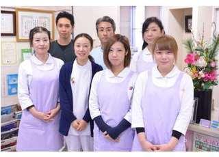 スタッフです。笑顔を絶やさず、患者様にご対応させて頂きます。