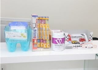 各種歯科用品を取り揃えています。
