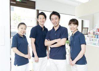 新江古田こばやし歯科クリニックのスタッフです。みなさまのお越しを心よりお待ちしております。