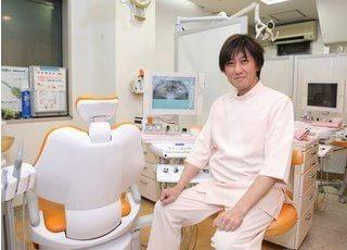院長です。地域に密着した歯科医療を目指しております。