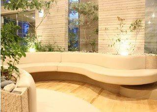 待合室は清潔感のある広々とした作りになっていますので、診療をお待ちの間、くつろいでお待ちいただけます。