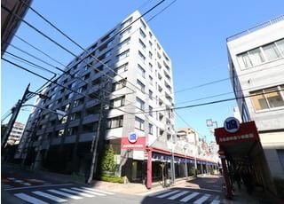 YUZ DENTAL tsukishimaの外観です。