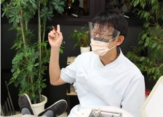 おおもり歯科クリニック治療の事前説明1