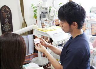 帆足歯科医院治療の事前説明1